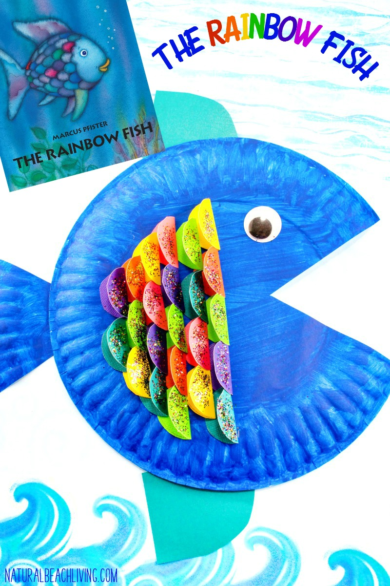 Super Cute Paper Plate Fish Craft For Kids Natural Beach