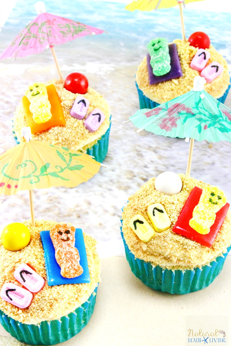 summer themed cupcakes beach cupcakes beach themed cupcakes a fun summer party food