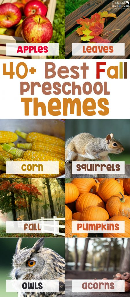 fall preschool themes and lesson plans