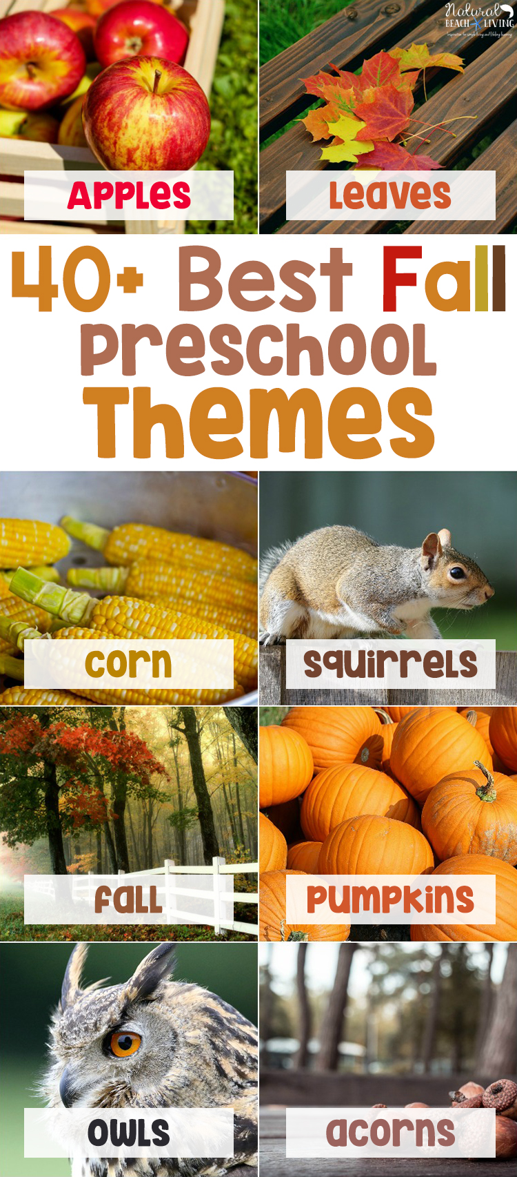 October Preschool Themes with Lesson Plans and Activities, Find all of your Fall Themes for Preschool with hands on learning activities and printables. Including Pumpkin science, Farm Theme, Leaf Theme, PUMPKIN ACTIVITIES, SCARECROWS, HALLOWEEN, Plus, Preschool Weekly Themes and a Free Printable List of Themes for Preschool