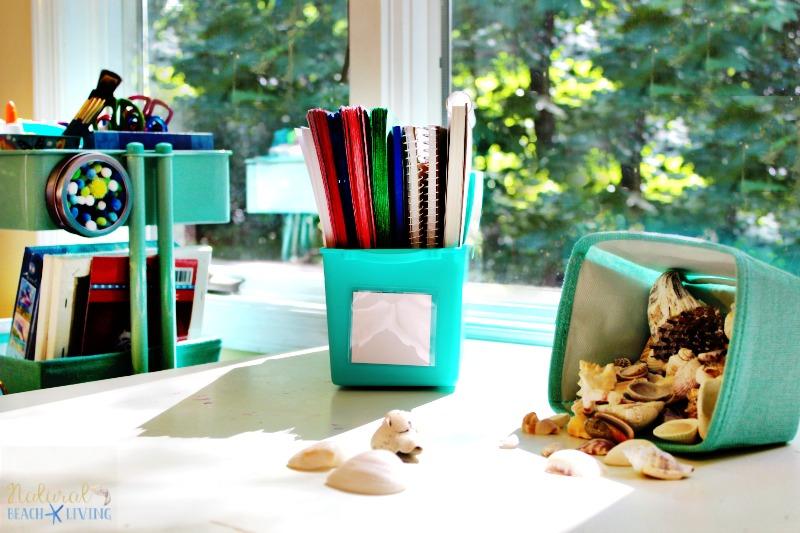 How to Set Up a Kids Arts Crafts Cart, Art Supply Cart for Kids, Easy to set up Arts and Crafts space for kids, Homeschool ideas, Preschool areas, Kid Space
