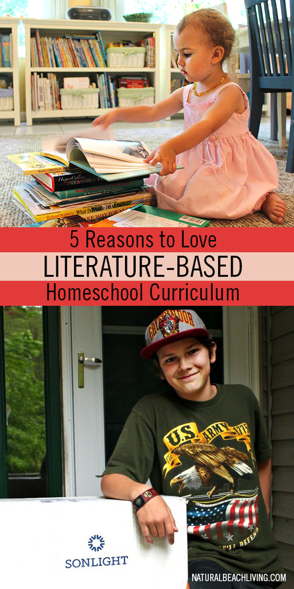 5 Reasons to Love Literature Based Homeschool Curriculum, Literature based preschool, Literature based curriculum, Teaching with Books, Great Living Books