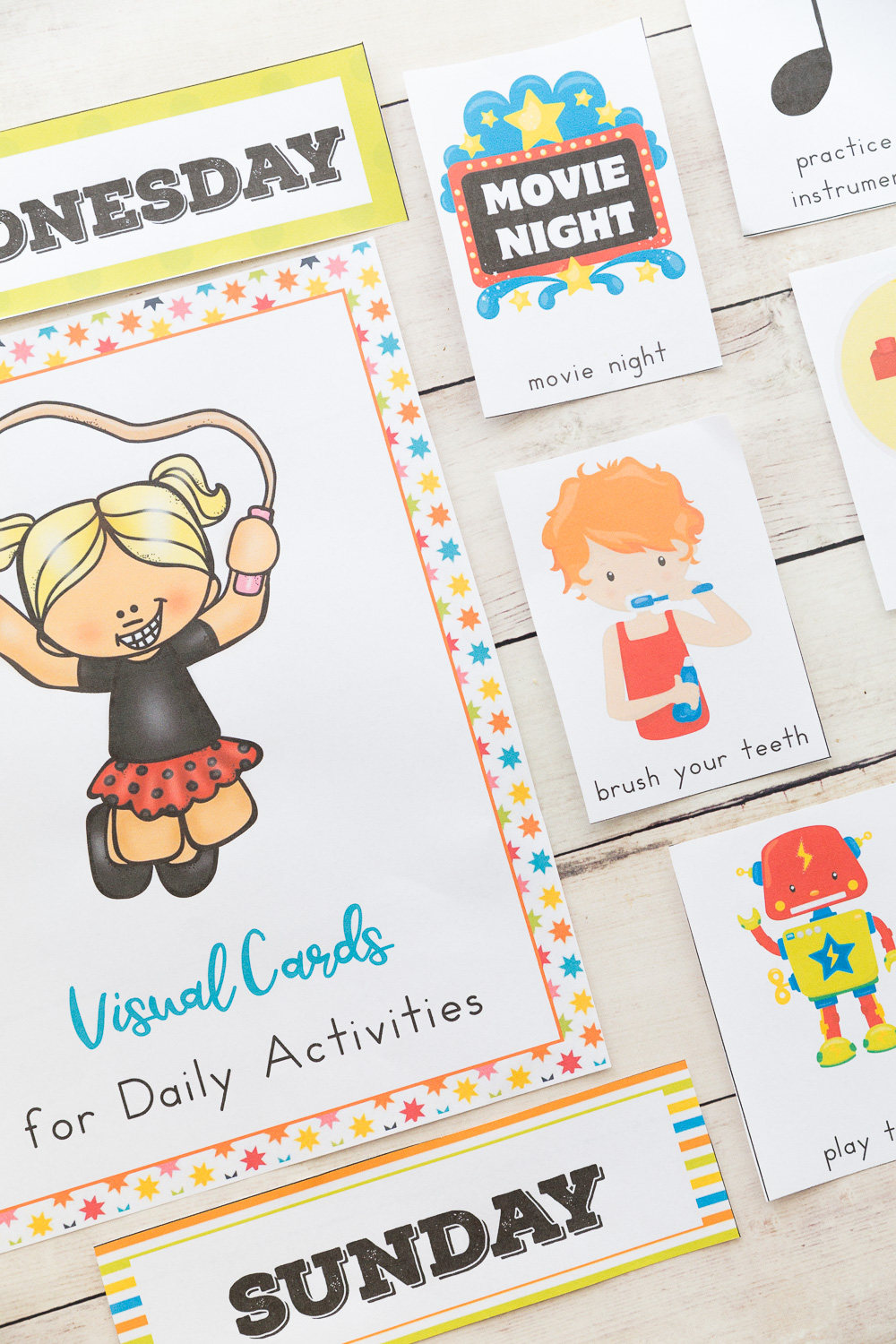 The Ultimate Daily Visual Schedule Cards Bundle, daily routine, Autism, PECS, Picture Cards, Full Year of Activity and daily task cards 180+ Visual Cards