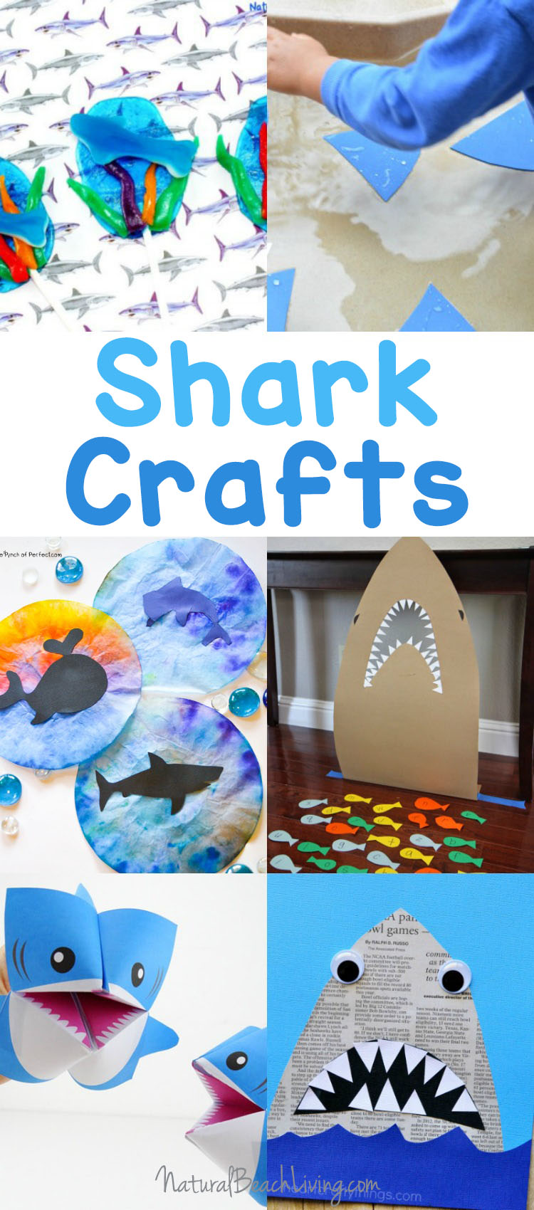 25 Shark Week Crafts And Activities For Kids Natural Beach Living