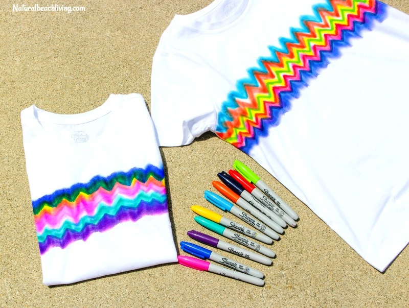 eee721c177e6 How to Make Super Cool Sharpie Tie Dye Shirts - Natural Beach Living