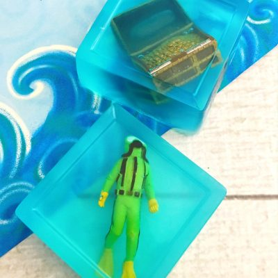 Treasure Themed Recipe Homemade Soap for Kids