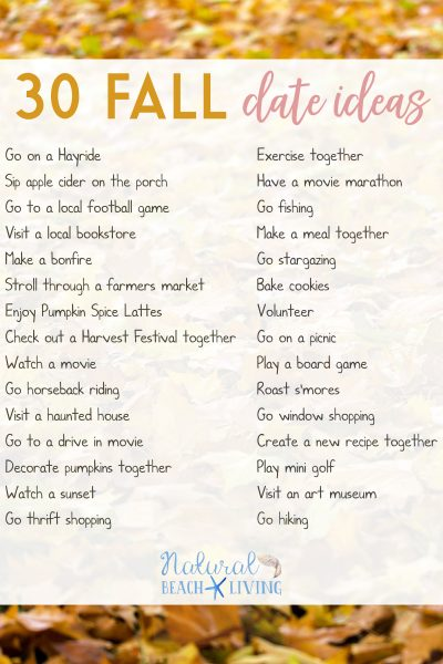 Fun Date Night Ideas for Fall