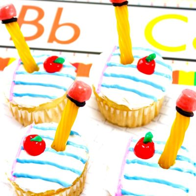 The Best Back to School Cupcakes – School Supplies