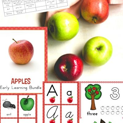 The Best Kindergarten and Preschool Apple Theme Activities and Lesson Plans