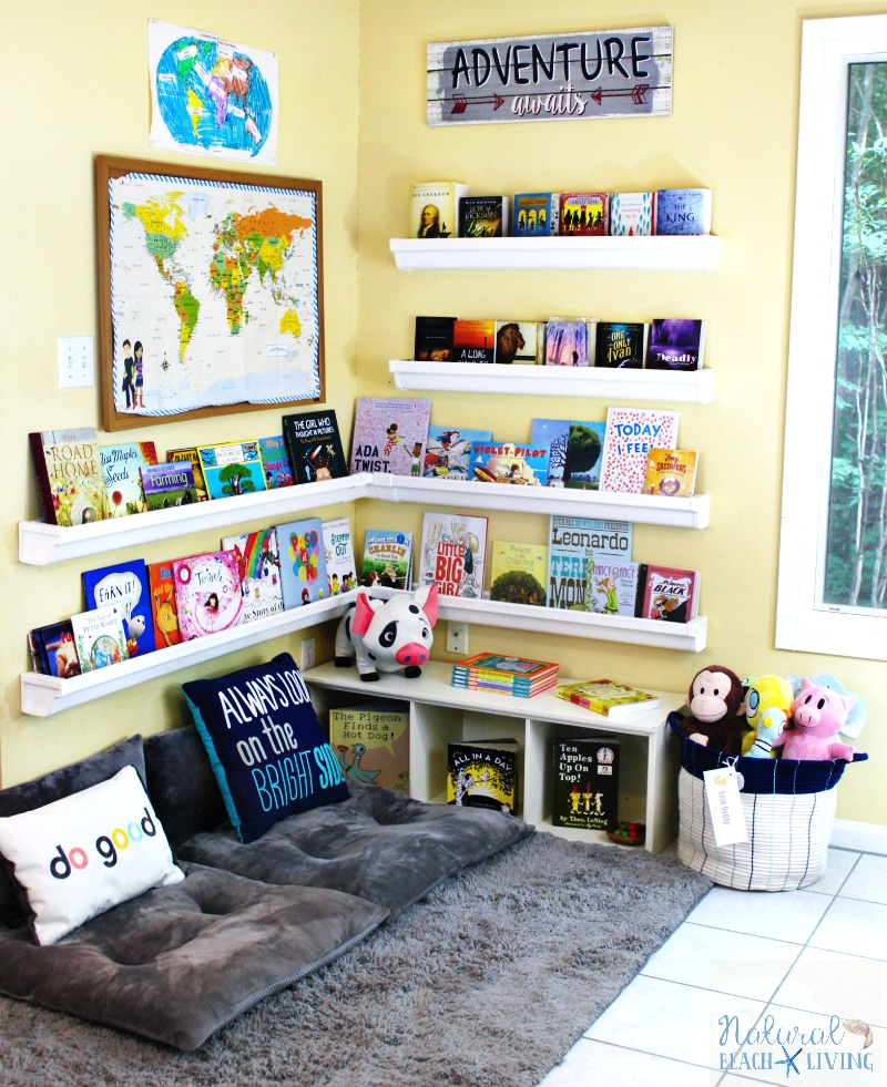 Homeschool Room Ideas Small Spaces: How To Set Up A Reading Nook Kids Love