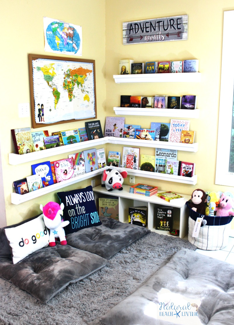 How To Set Up A Reading Nook Kids Love Plus Diy Rain