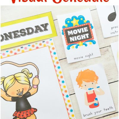 5 Benefits of Visual Schedules for Children – Ultimate Visual Schedule Printables