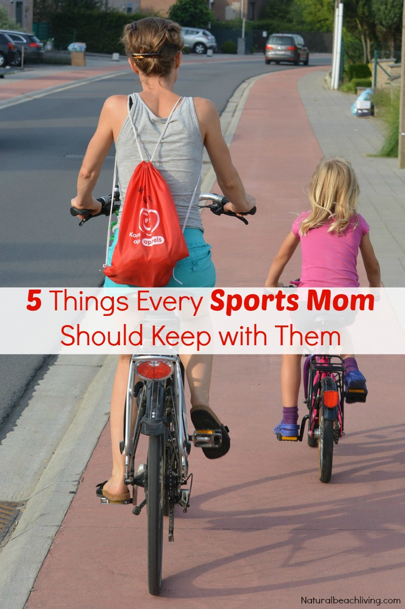 5+ Things Every Sports Mom Should Keep with Them, Sports mom survival kit, busy moms, car kit, travel kit, sports tips