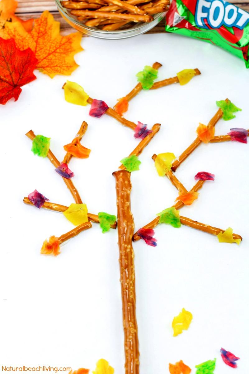 Fall Snacks Kids Love to Make and Eat- Edible Trees