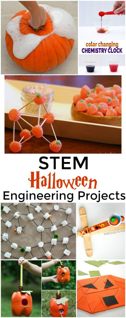 Halloween STEM for Preschool and Kindergarten, 20+ Halloween STEM Activities for Preschool and Kindergarten, Halloween Engineering Projects, Pumpkin Activities, Halloween Science, Halloween Slime, Hands-on Science activities