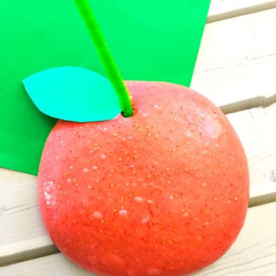 How to Make Jiggly Slime Cinnamon Apple Scented