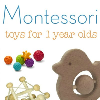 The Best Montessori Toys for 1 year olds