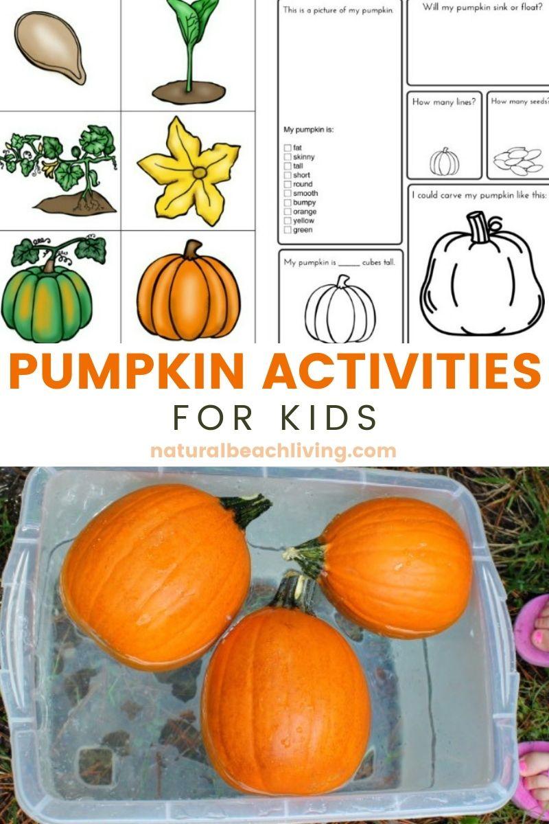 Pumpkin Activities for Kids – Pumpkin Lesson Plans (STEM)