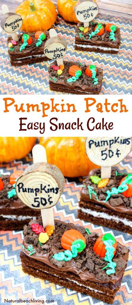 How to Make Easy Pumpkin Patch Snacks, Halloween Snack Ideas for Kids, Dirt Snack Ideas, Halloween Party Snack, Fall snacks kids love, Fall Recipes, Pumpkin Snacks