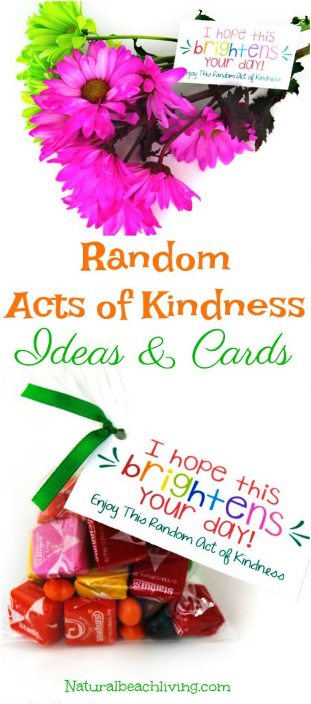 101 Best Random Acts of Kindness Ideas, Random acts of kindness Printable, Acts of Kindness Examples for Families, Acts of Kindness for Kids, Easy Ways to Show Kindness, Small acts of kindness ideas, Simple Acts of Kindness Ideas!