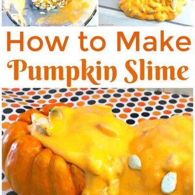 How to Make Saline Solution Slime for Pumpkin Jiggly Slime