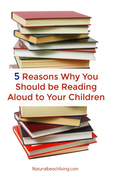 5 Reasons Why It's Important To Read to Children