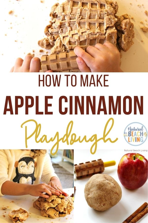 The Best No Cook Apple Cinnamon Playdough Recipe