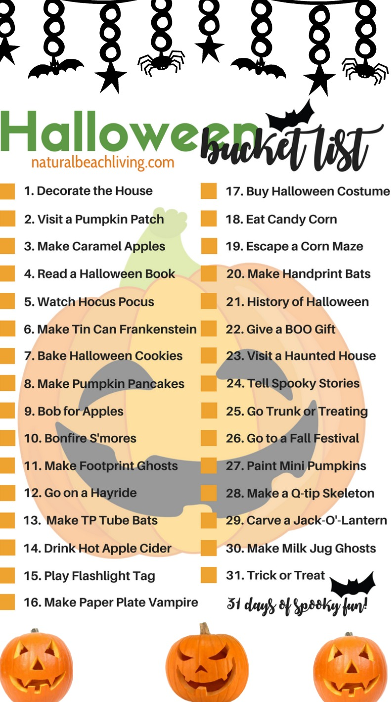 Halloween Bucket List, An easy Halloween Sensory Bag, Sensory play for babies, toddlers and preschoolers, How to Make Halloween Sensory Bags, Mess Free Halloween Sensory Activities for exploring senses.