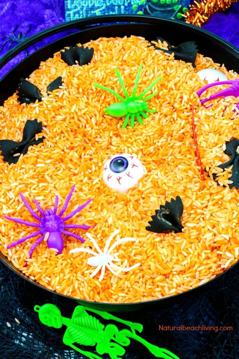 Easy Halloween Sensory Binthat Preschoolers Love