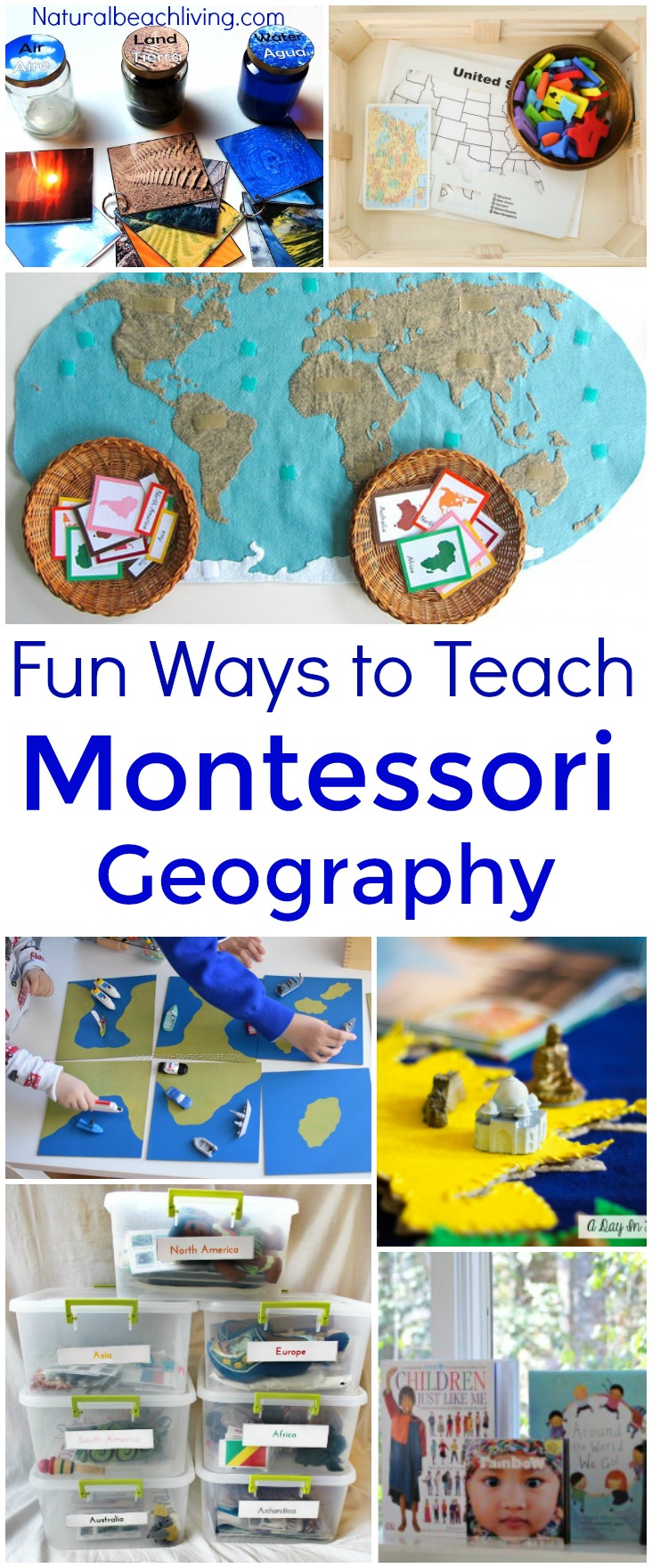20+ Ways to Teach Montessori Geography Kids Will Love