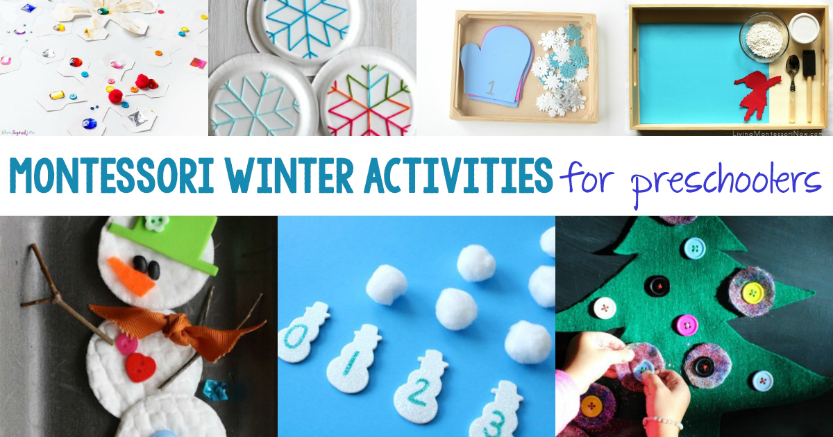 30 Best Montessori Winter Activities For Preschool And Kindergarten