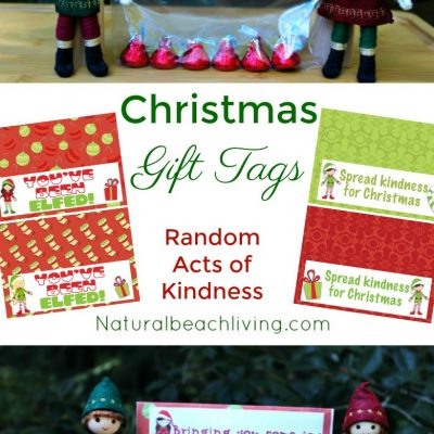 Perfect Random Acts of Kindness Christmas Gift Tags