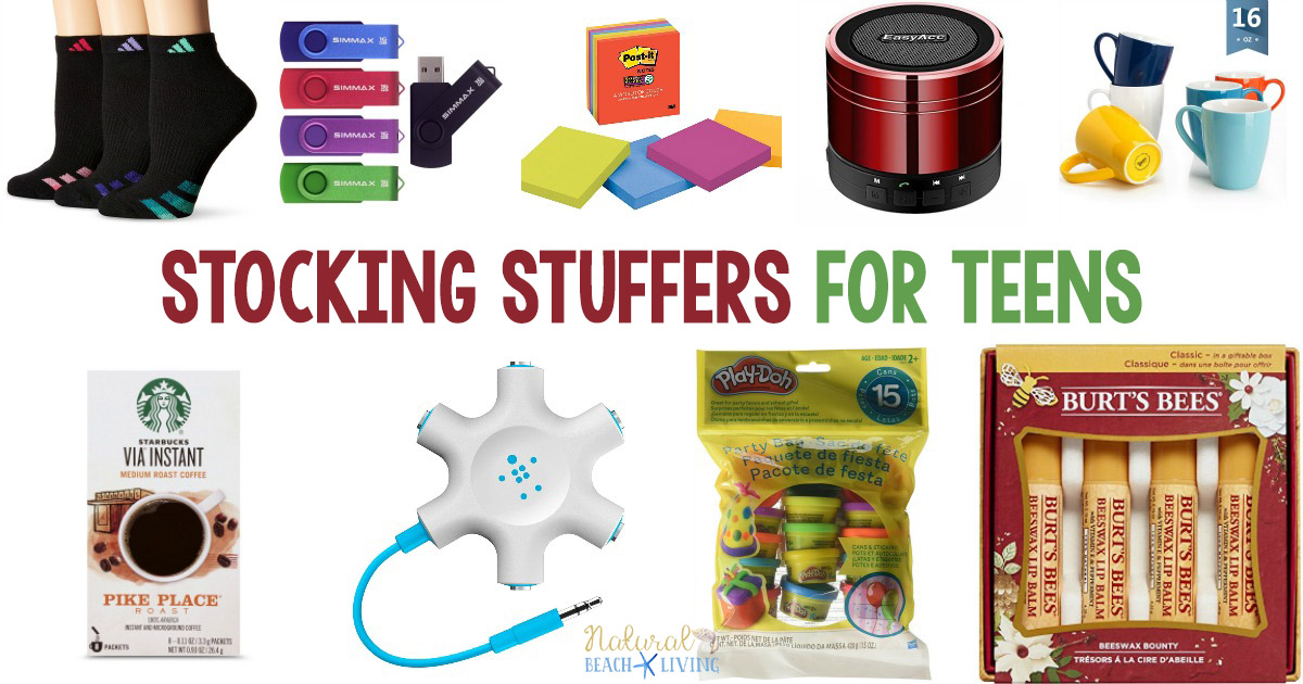 24 Epic Stocking Stuffers For Teens Boys And Girls Natural Beach Living