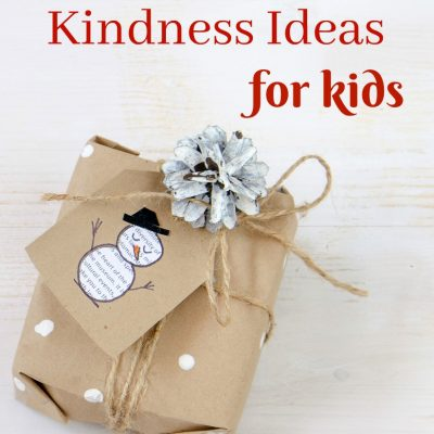 30+ Random Acts of Kindness for Kids