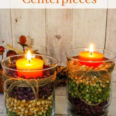 Easy Fall Table Centerpieces – Harvest Centerpieces for Fall Decor