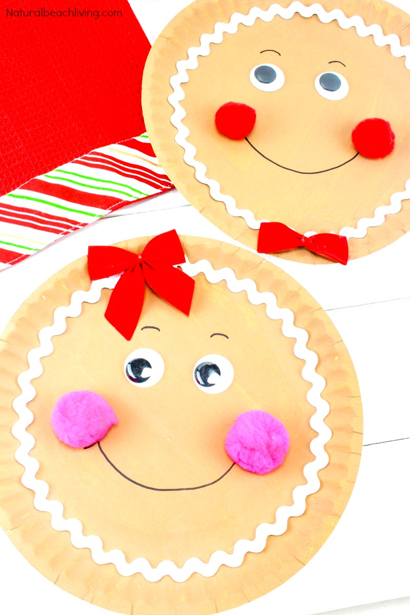 21 Paper Plate Crafts for Christmas, The best Christmas Paper Plate Crafts, You'll find all of the Paper Plate Christmas Crafts that you need for a variety of Christmas themes, Gingerbread craft, Santa craft, Christmas tree craft, An angel paper plate craft, elf craft and more.