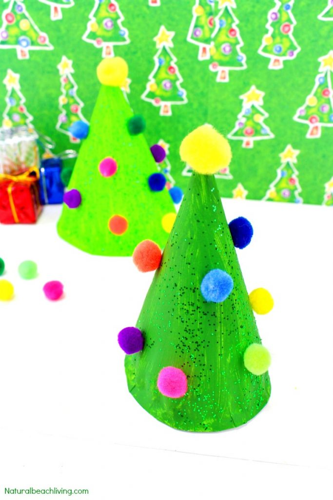 Easy Paper Plate Christmas Crafts For Preschoolers Natural Beach