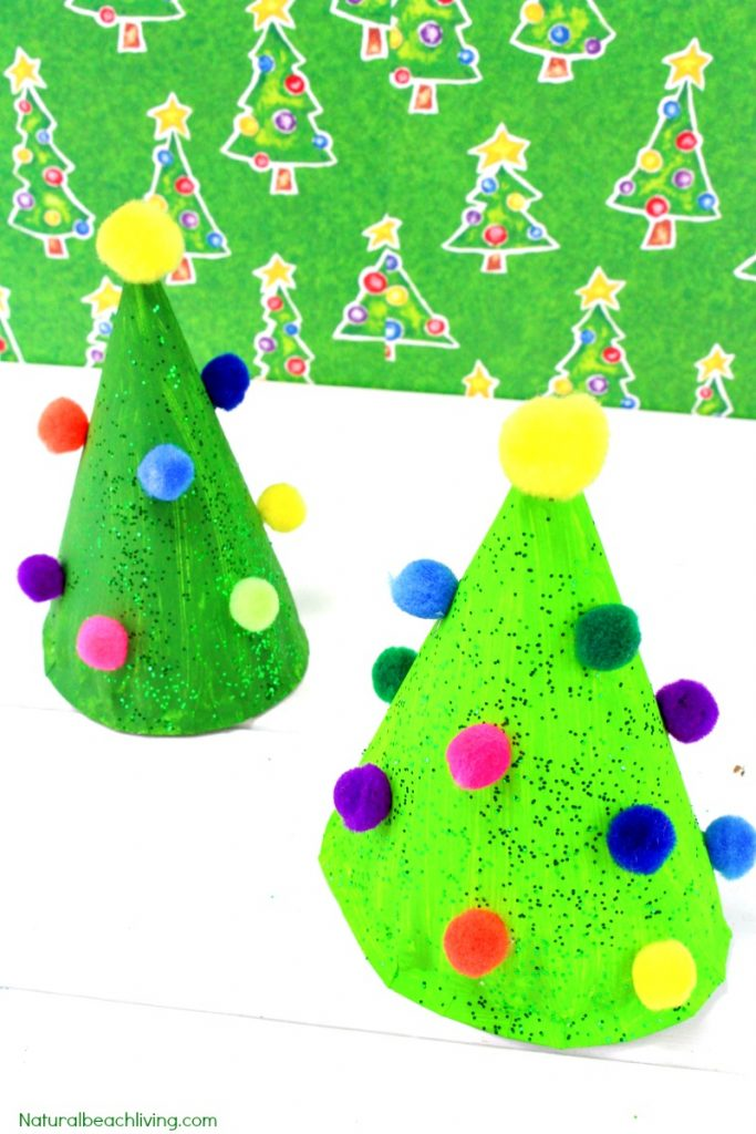 Christmas Tree Project For Preschool Easy Christmas Tree
