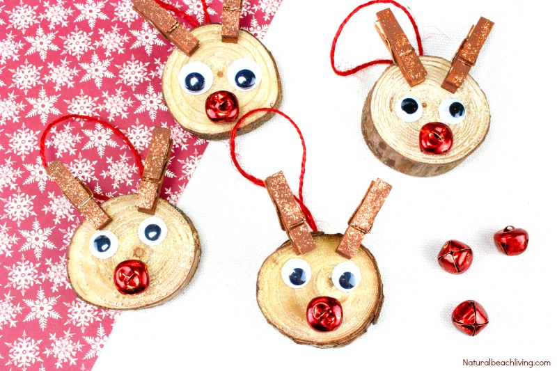 easy to make rudolph christmas ornaments kids will love christmas ornaments kids can make - Rudolph Christmas Decorations