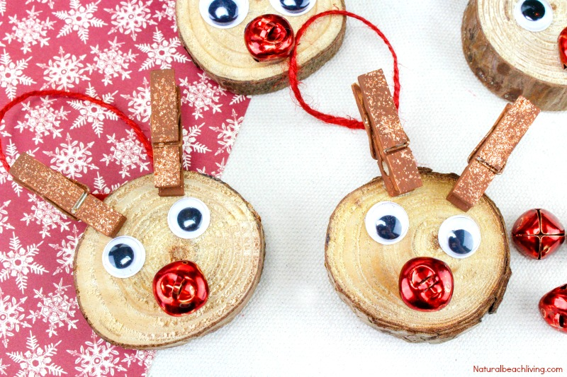 Easy to Make Rudolph Christmas Ornaments Kids Will Love ...