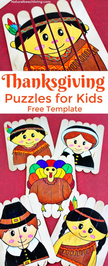 photo regarding Thanksgiving Puzzles Printable Free named Thanksgiving Preschool Pursuits - Do it yourself Thanksgiving Puzzles