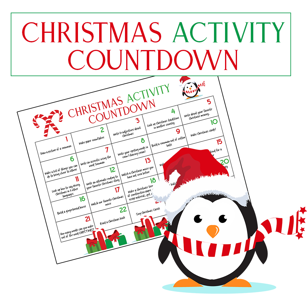 photo about Printable Christmas Countdown referred to as Top Xmas Calendar Countdown Small children Will Appreciate