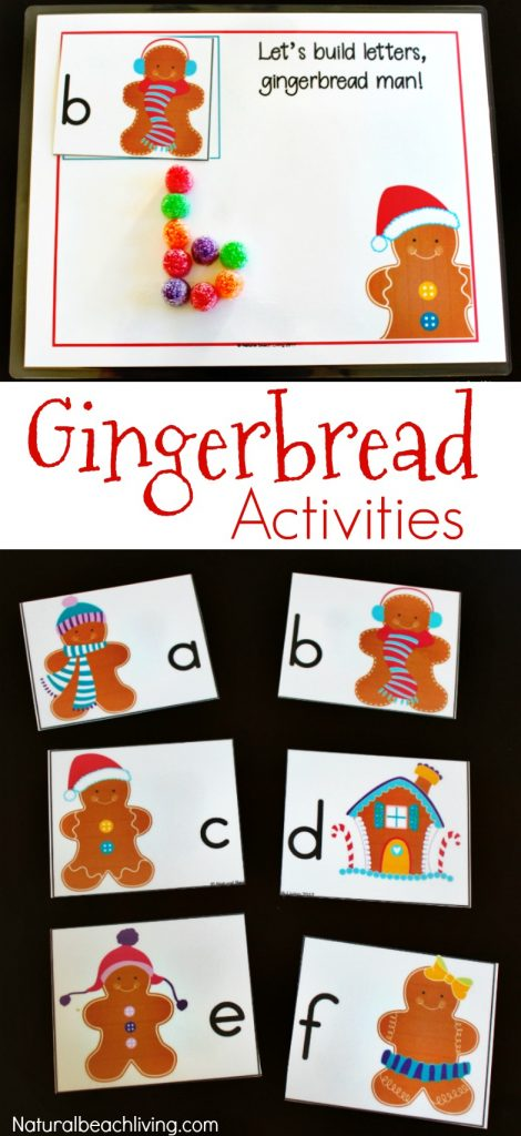 Gingerbread Kindergarten & Preschool Theme Lesson Plan