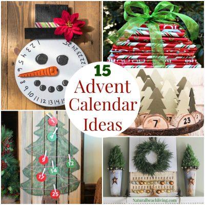 15+ Unique Handmade Advent Calendar Ideas