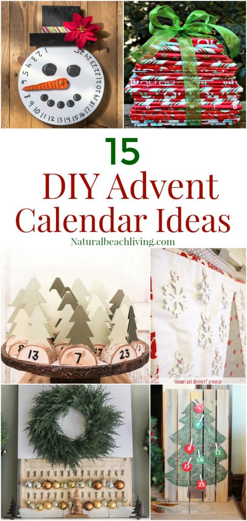 15+ Unique Handmade Advent Calendar Ideas, Christmas Countdown, DIY Advent Calendars for Christmas, Christmas Kindness, Christmas Book Advent, Kids Christmas Advent Ideas #Christmas