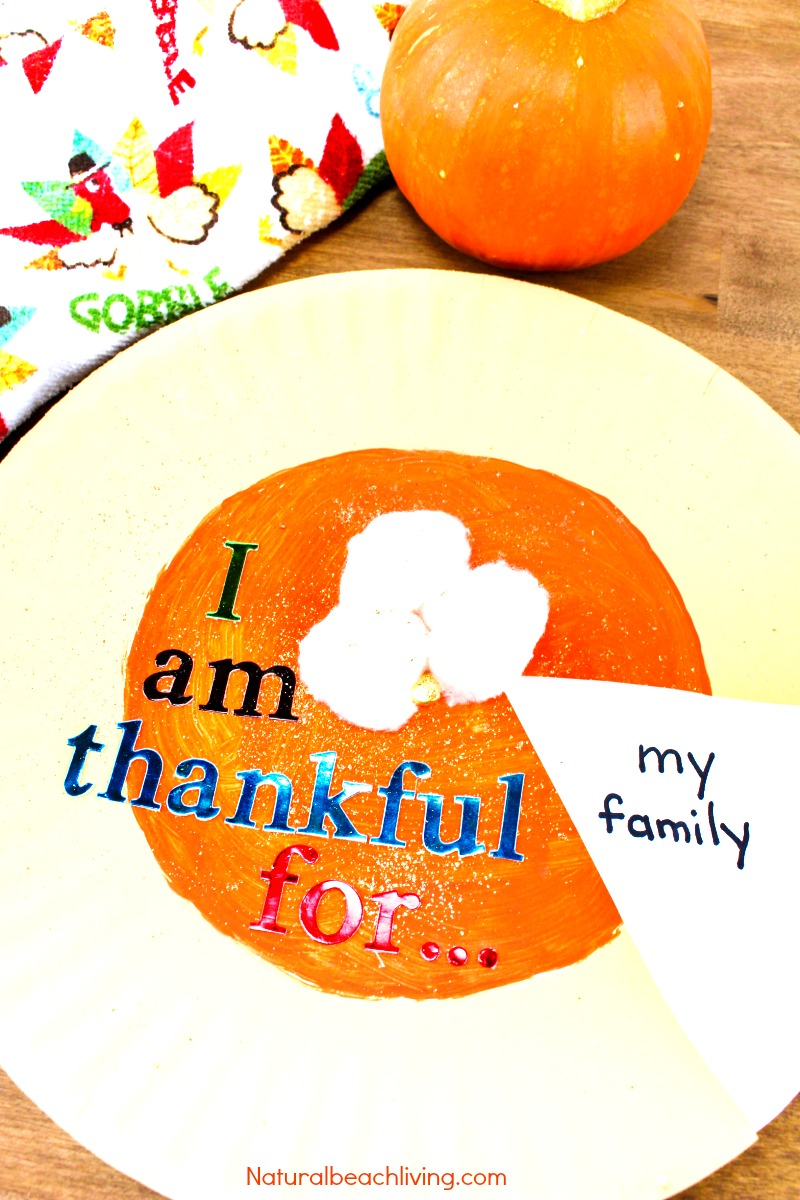 Best Easy To Make I Am Thankful Craft For Kids Natural Beach Living