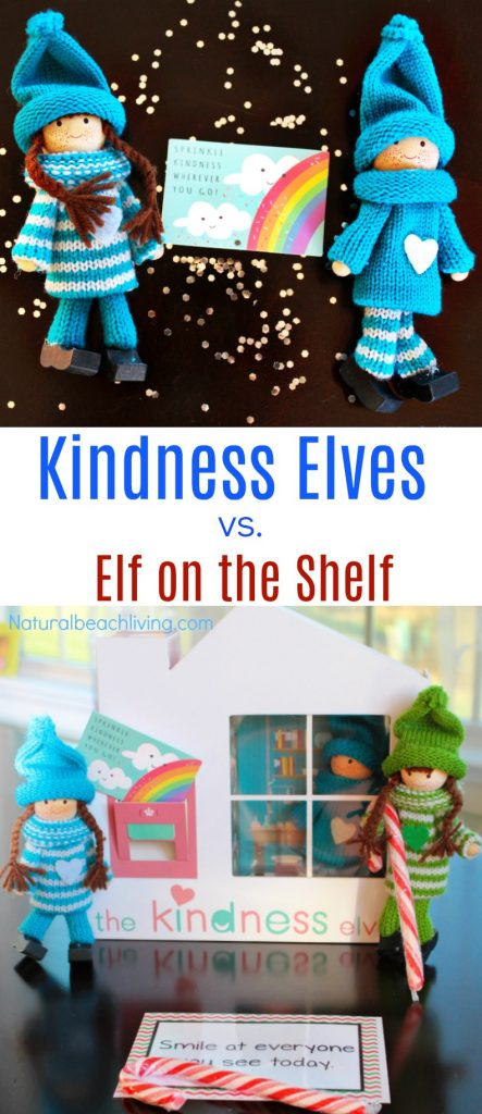 Why the Kindness Elves are a Perfect Alternative to the Elf on the Shelf, Kindness, Acts of Kindness with Kindness Elves, Teaching Kindness with the Kindness elves, Christmas Kindness, #Christmas #Kindness #Randomactsofkindness
