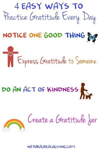4 Easy Ways to Practice Gratitude Every Day