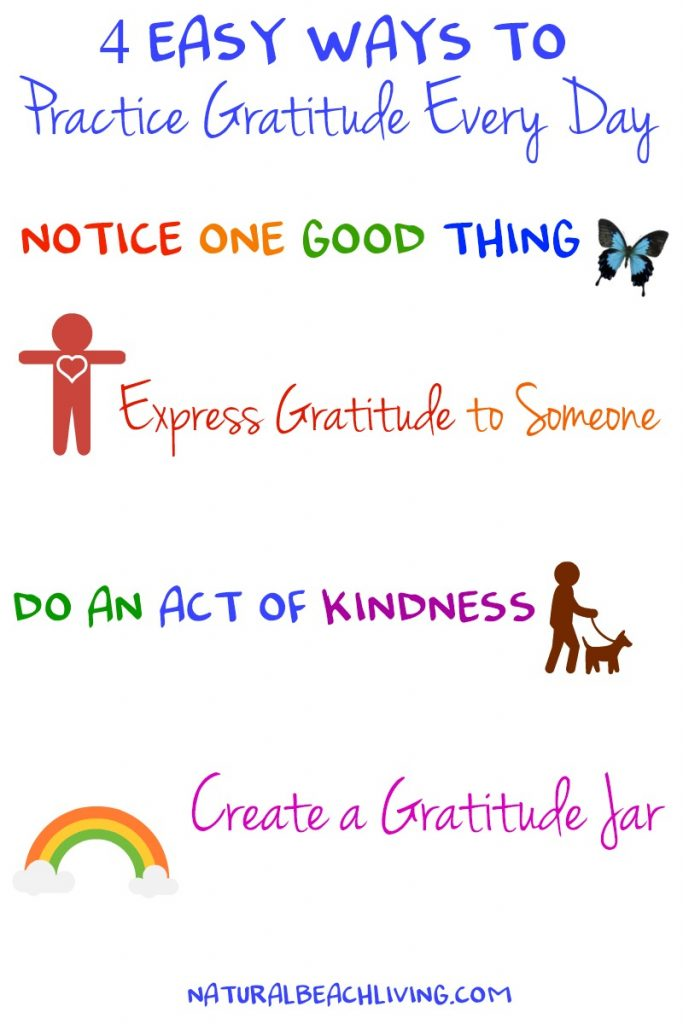 4 Easy Ways to Practice Gratitude Every Day, Kindness, Daily Gratitude List, Raising Grateful Kids, Being Grateful, Developing attitude gratitude, Random acts of kindness, Thankful ideas, #Gratitude #Thankful #Randomactsofkindness #actsofkindness #gratefulheart