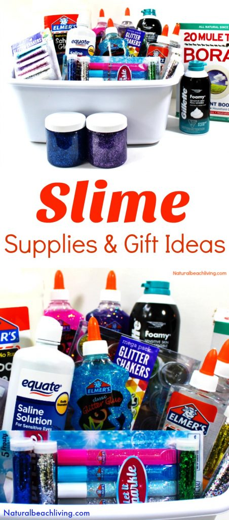 Slime recipes, Slime supplies, How to make slime, Slime gift ideas, Slime recipe gift basket #slime #slimerecipes #giftideas